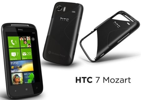 HTC 7 Mozart con Windows Phone 7, en octubre con Orange