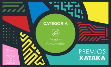 Mejor portátil convertible: vota en los Premios Xataka 2017