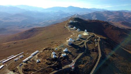 Esa S Test Bed Telescope 2 On Site At La Silla Pillars