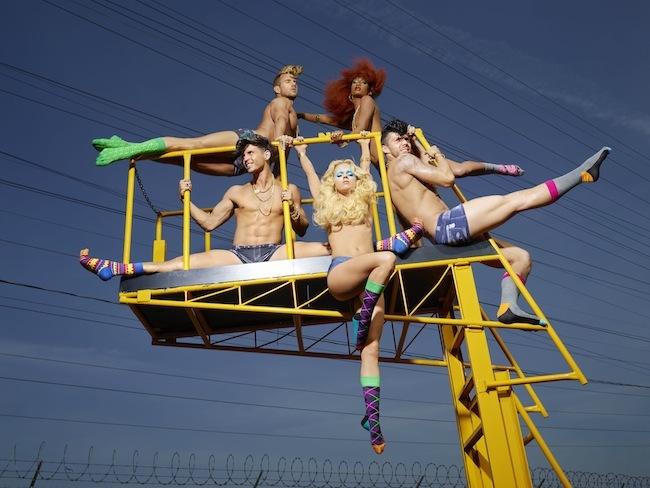 Foto de Happy Socks campaña con David LaChapelle (8/9)