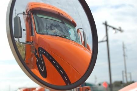 Camión espejo retrovisor