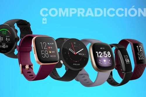 Chollos Polar y Fitbit en Amazon: relojes y pulseras deportivas en oferta durante esta semana