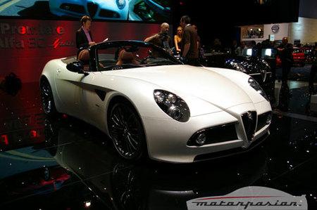 Alfa 8C Spider Lo Mejor de 2008
