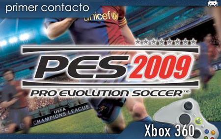 'PES 2009': Primer contacto. El fútbol está de luto...
