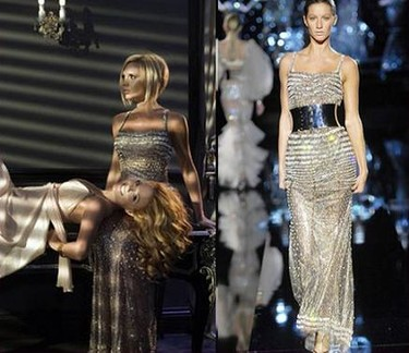 Victoria Beckham, una Spice girl de Dolce & Gabbana