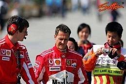 Schumacher con la peor suerte