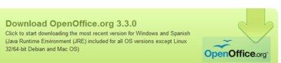 OpenOffice 3.3 llega dos días después de la salida de LibreOffice