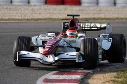 Roldán, satisfecho con su primer test para Force India