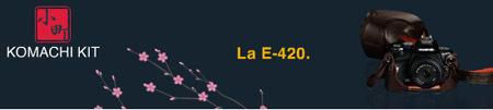 Olympus promociona Komachi Kit, un pack especial de la E-420
