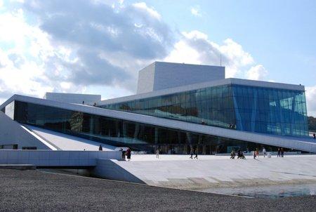 La vanguardista Ópera de Oslo