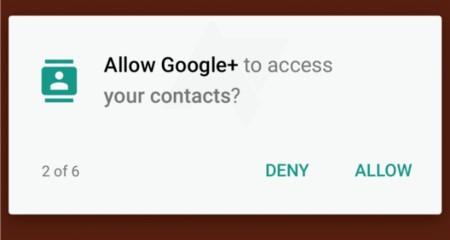 Android M sí tendrá un control de permisos para aplicaciones