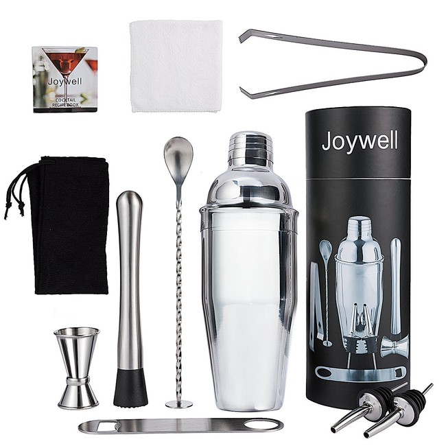 Oferta flash en el set de 10 piezas de coctelería Joy Well: hasta medianoche cuesta 19,99 euros en Amazon