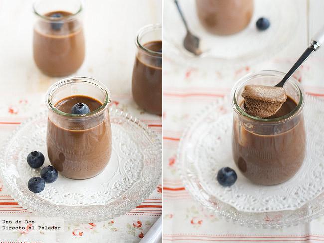 Pana cotta de turrón de chocolate. Receta de aprovechamiento