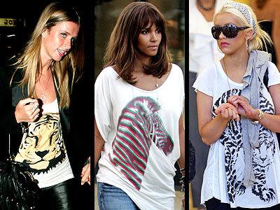 Print animal: no sólo estampados, se llevan los dibujos de animales en las camisetas