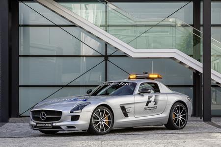 El Mercedes-Benz SLS AMG GT ya está en la Fórmula 1