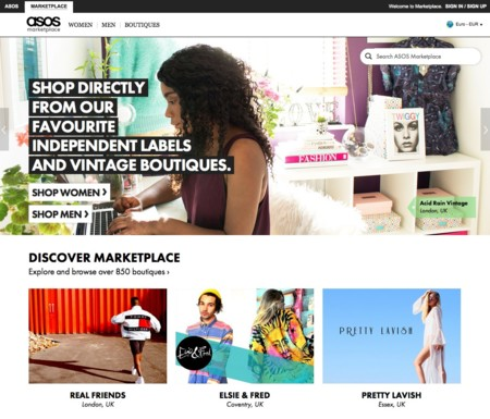 Asos Marketplace Portal