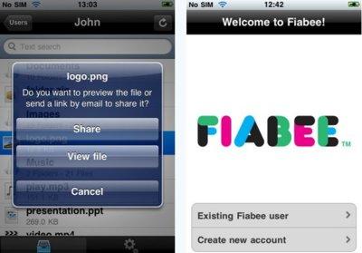 Fiabee lanza aplicación para el iPhone