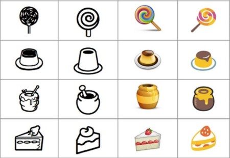 Variantes emojis