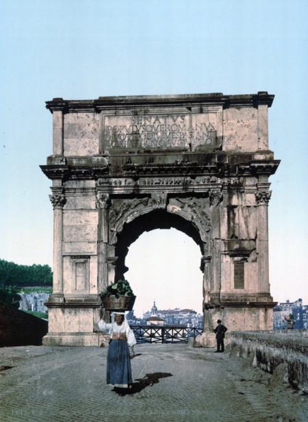 El Arco Del Triunfo De Tito