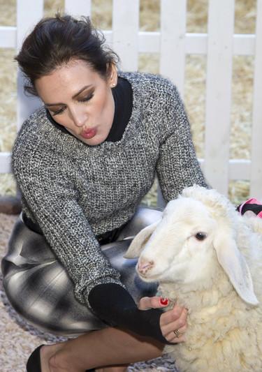 Nieves Álvarez (sin duda alguna) la mejor embajadora española de la lana