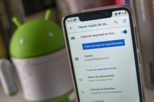 Cómo hacer una copia de seguridad completa de un móvil Android