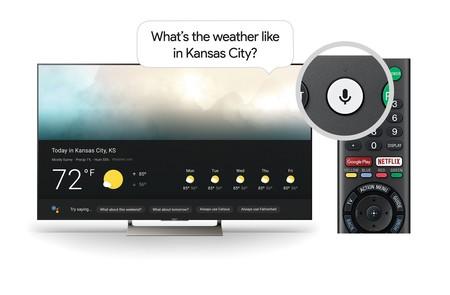 Google Assistant da el salto a la televisión y llega a las Sony Android TV