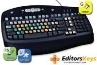 EditorsKeys, otro sustituto del Optimus