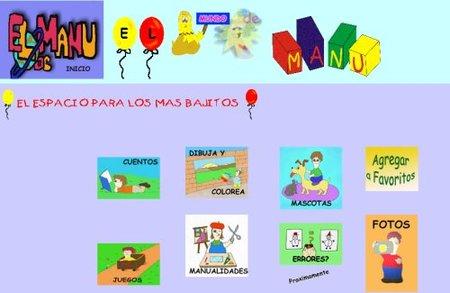 El mundo de Manu, entretenimiento online para los más pequeños