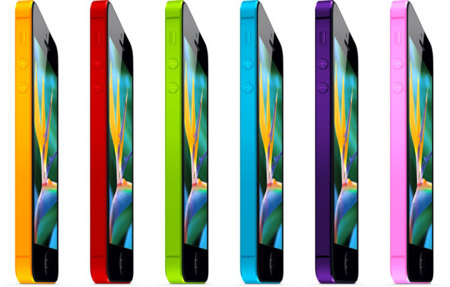 iPhone 5S de colores