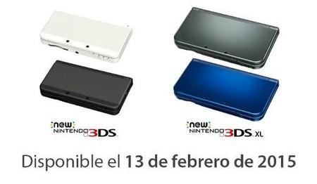 New Nintendo 3DS y New Nintendo 3DS XL saldrán el 13 de febrero en España