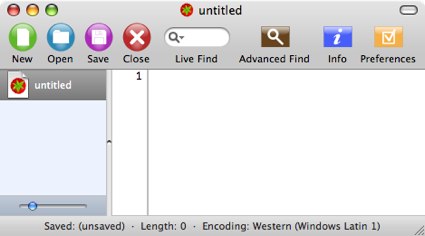 Smultron 3.0, el editor libre para Mac OS X