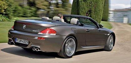 BMW M6 Cabrio, primeras fotos oficiales