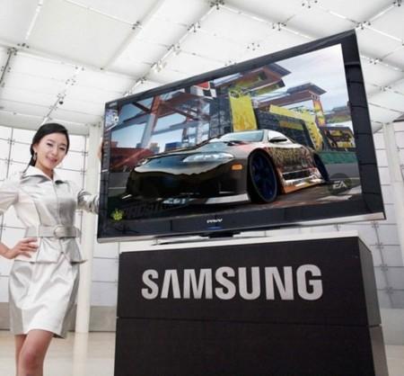 Plasma de Samsung 3D Ready