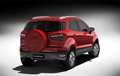 Ford desvelará en Ginebra el Ecosport y la gama Tourneo