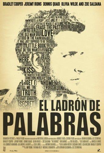 El póster de El Ladrón de Palabras