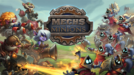 Mechs vs Minions: el juego de mesa basado en League of Legends