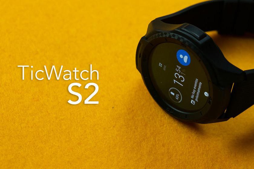 QnA VBage TicWatch S2, análisis: los smartwatches con Wear OS maduran a buena velocidad