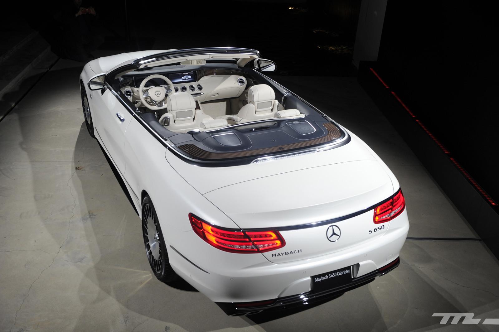 Foto de Mercedes-Maybach S 650 Cabrio (9/37)