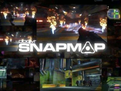 El modo SnapMap de Doom deja ver durante una hora lo fácil que es crear nuestros propios mapas