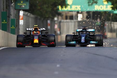 Hamilton Baku F1 2021 2