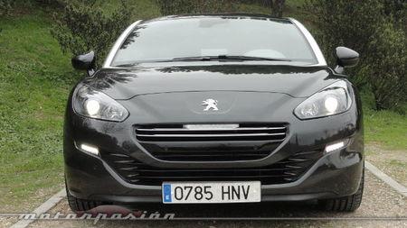 Peugeot RCZ 2013 2.0 HDi, vista frontal