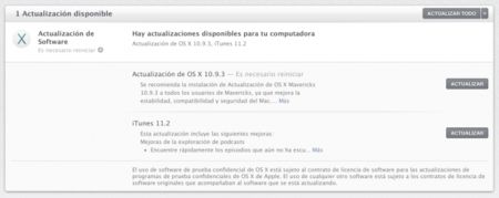 Apple lanza OS X Mavericks 10.9.3 para Mac con actualización de iTunes y más