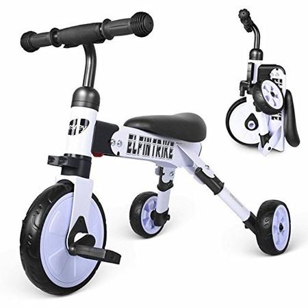 Triciclo 3 en 1 ligero y plegable para bebes a su precio más bajo en Amazon, por sólo 39,39 euros y envío gratis