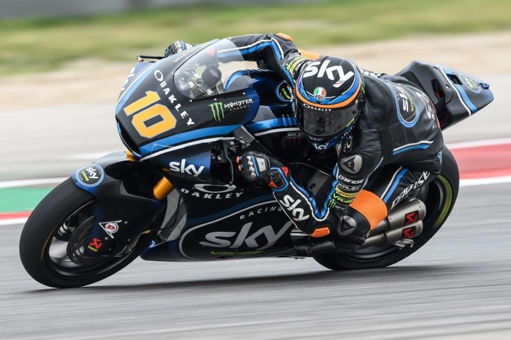 Luca Marini Gp Americas Moto2 2018