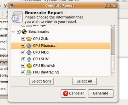 Generar informe