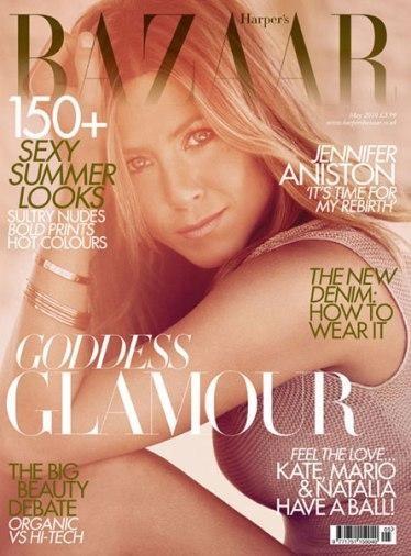 Jennifer Aniston tan sensual como siempre para Harper's Bazaar UK 2010