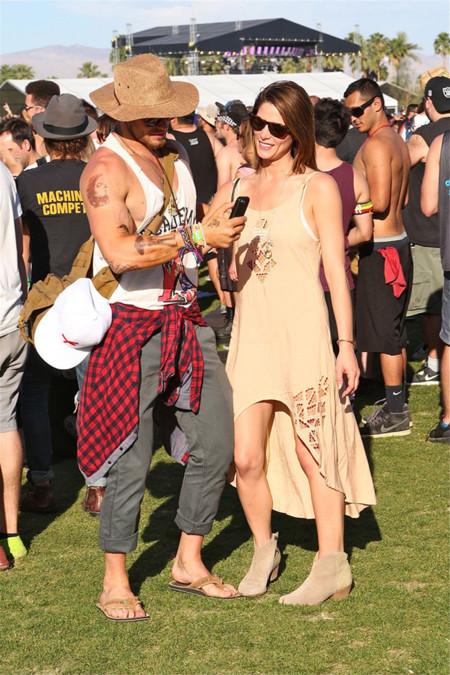 Ashely Greene Coachella 2014 mejor vestidas