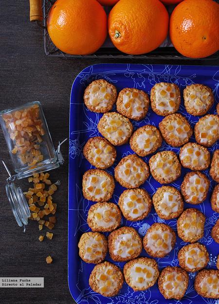 Galletas glaseadas de naranja y copos de avena: receta para fanáticos de los cítricos