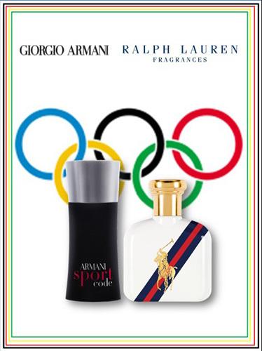 Giorgio Armani y Ralph Lauren, fragancias para las Olimpiadas 2012