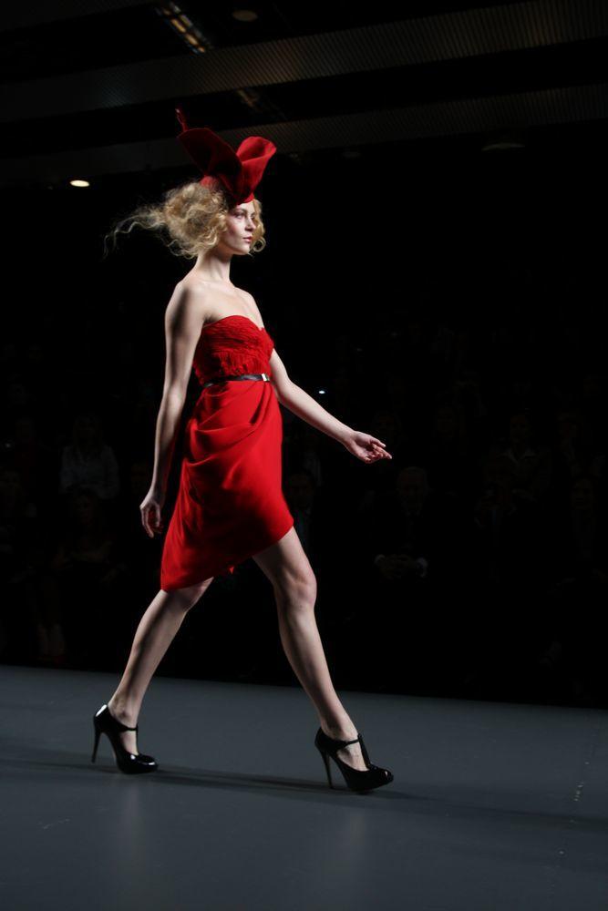 Foto de Alma Aguilar en la Cibeles Madrid Fashion Week Otoño-Invierno 2011/2012 (80/126)